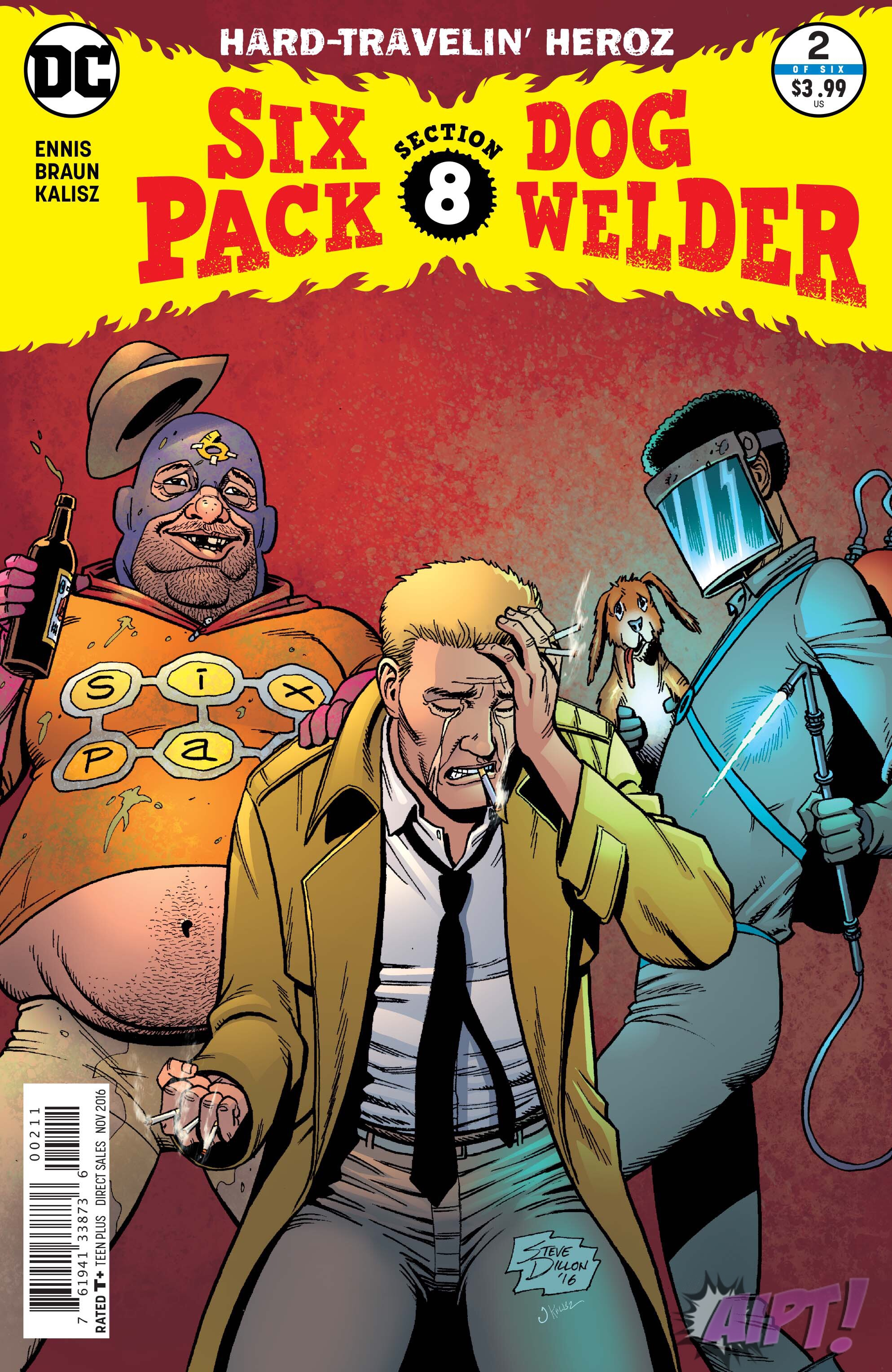 [EXCLUSIVE] DC Preview: Sixpack and Dogwelder: Hard-Travelin' Heroz #2