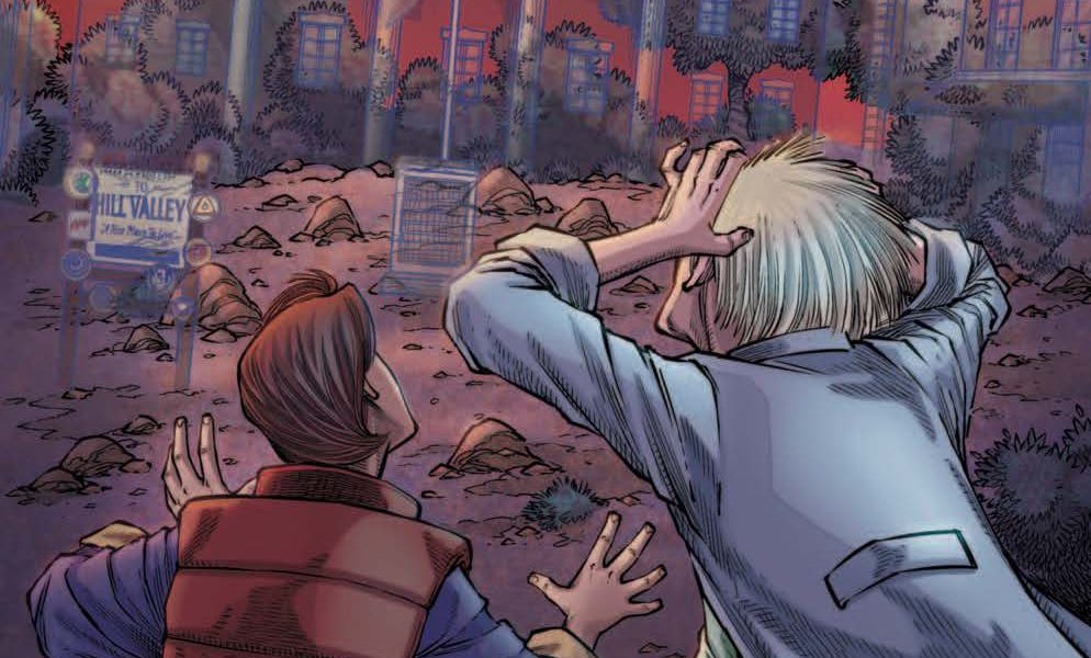 Back to the Future: Citizen Brown #5 Review