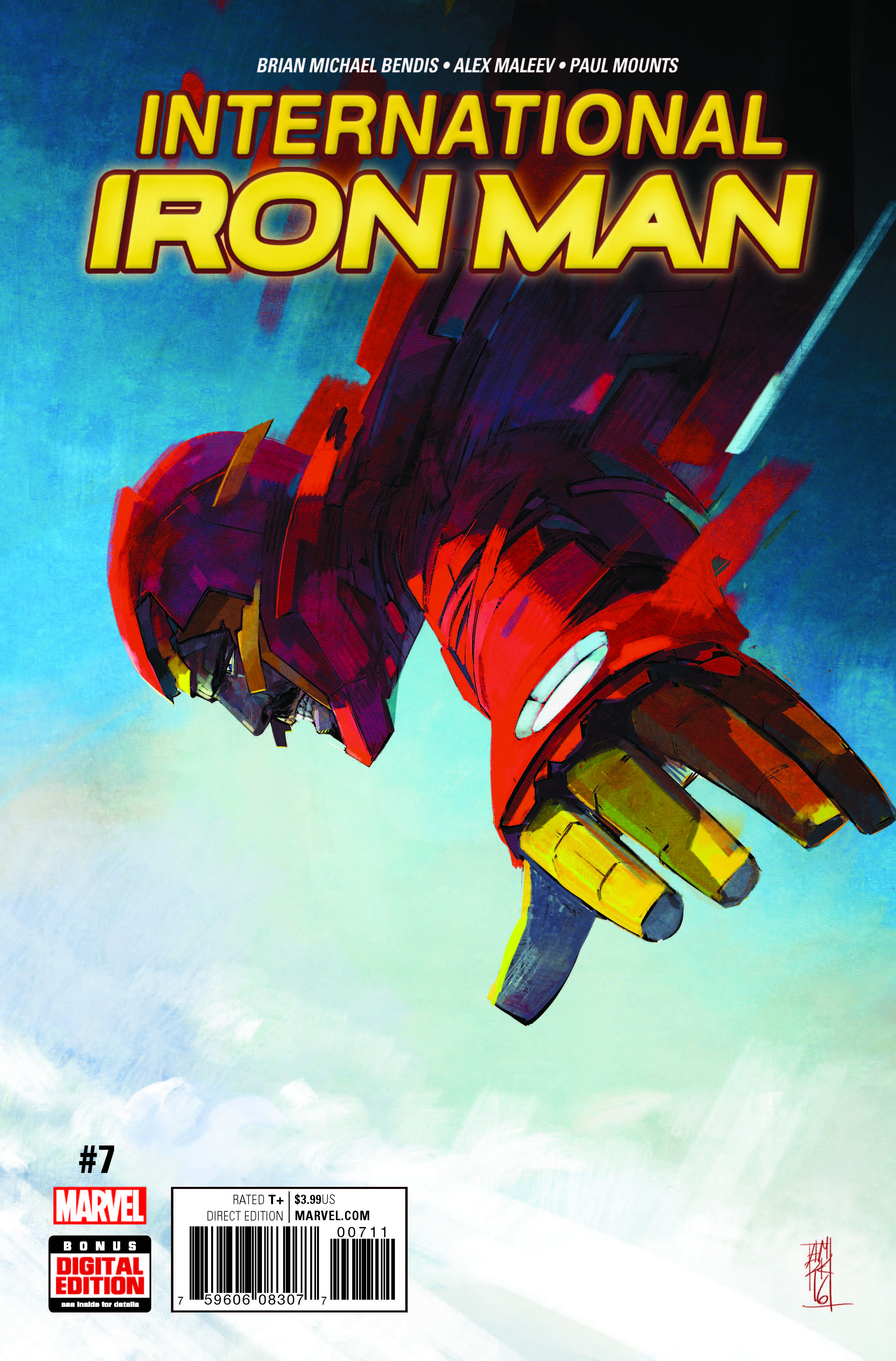 Marvel Preview: International Iron Man #7