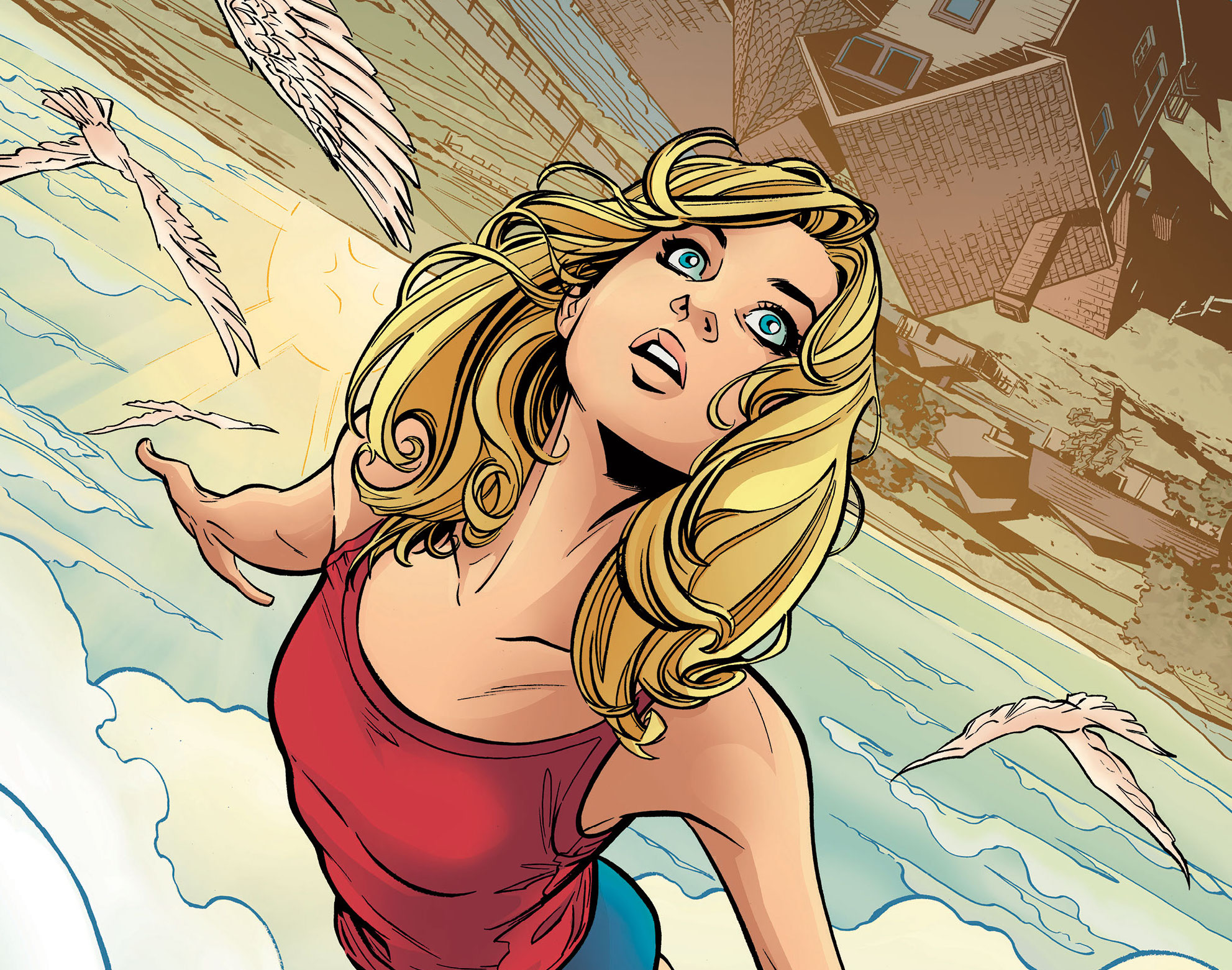 DC Preview: Supergirl: Being Super