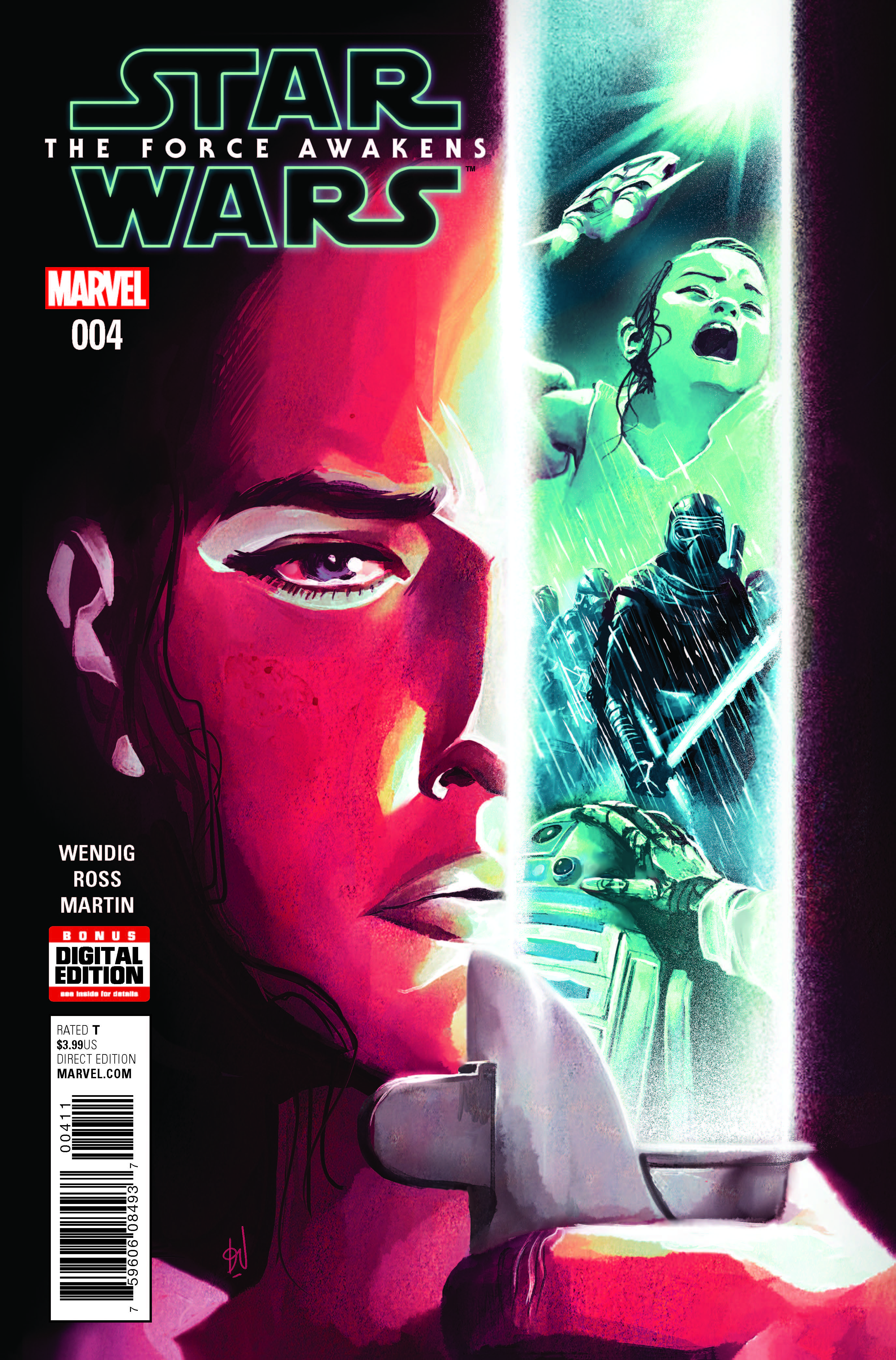 Marvel Preview: Star Wars Force Awakens Adaptation #4