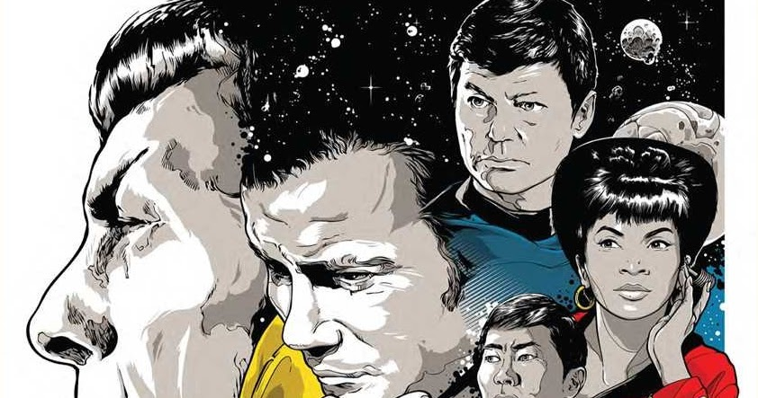 Star Trek: 50 Artists 50 Years Review