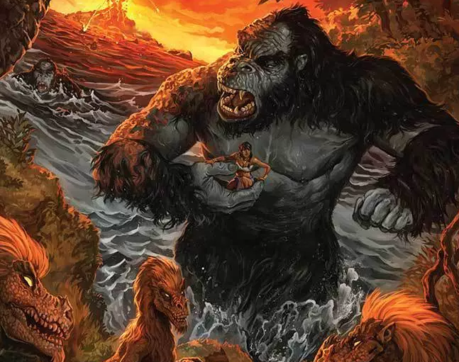 Kong of Skull Island #3 Review