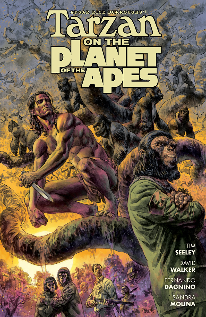 Dark Horse Preview: Tarzan on the Planet of the Apes #1