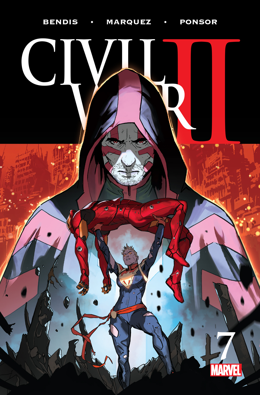 Marvel Preview: Civil War II #7 Covers