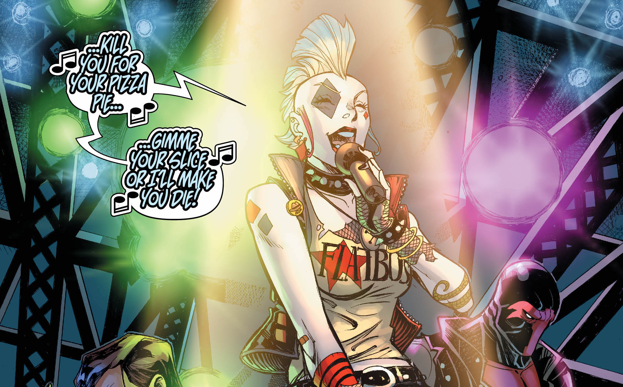 Make no mistake, Harley Quinn is hotter than ever, with rumors of her own solo film in the works and her series being one of the most consistently funny and clever comics on the stands. AiPT! recently had the opportunity to talk to the writers of Harley Quinn, Jimmy Palmiotti and Amanda Conner, about their new three-issue story arc in issues 5 through 7 and the upcoming Harley Quinn's Little Black Book #6 with guest artist Simon Bisley. The conversation discusses punk rock, their collaborative writing process, Joker's potential beef with Red Tool, and more!
