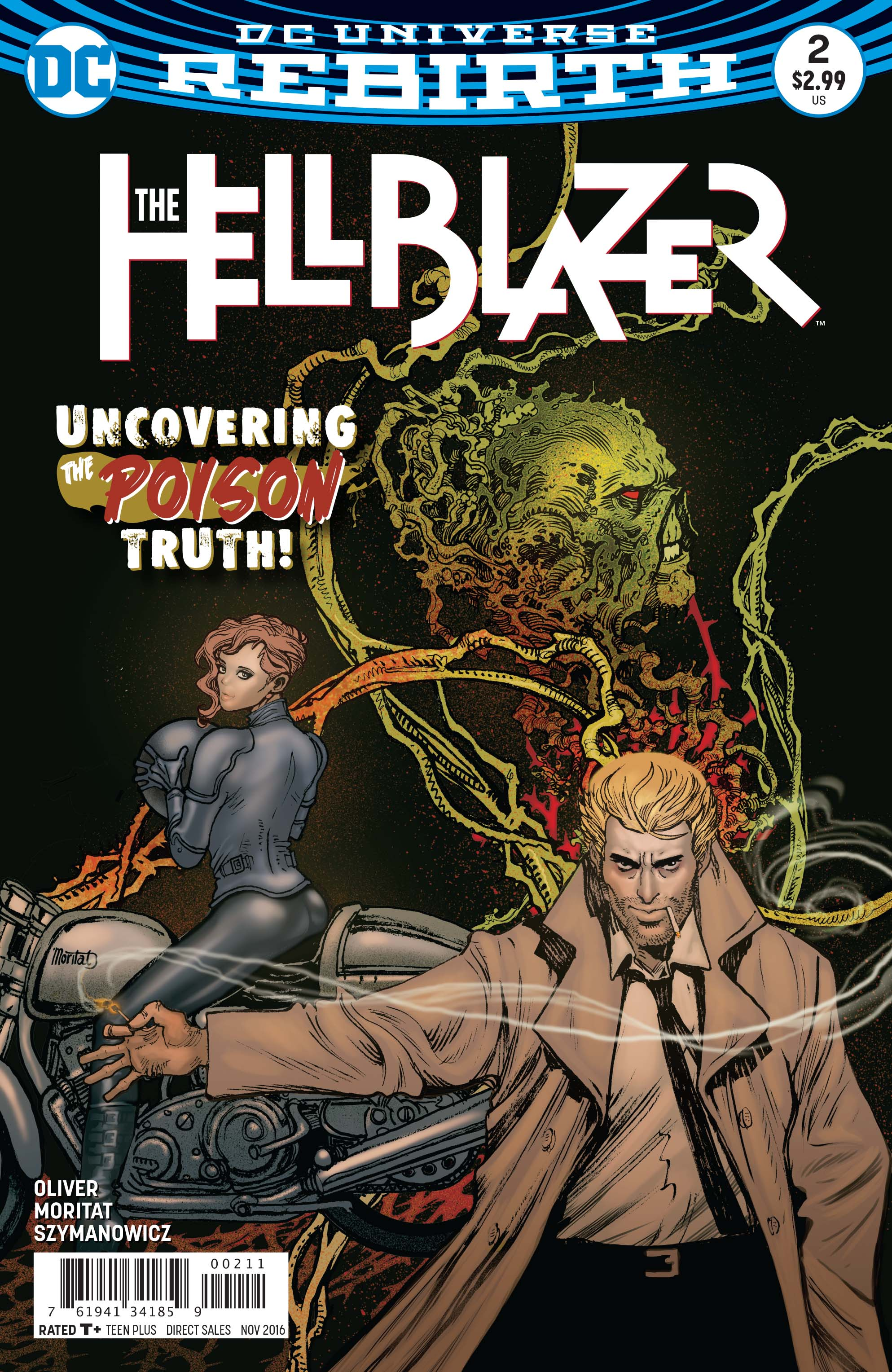 Interview: 'The Hellblazer' writer Simon Oliver talks Constantine, magic and Sting
