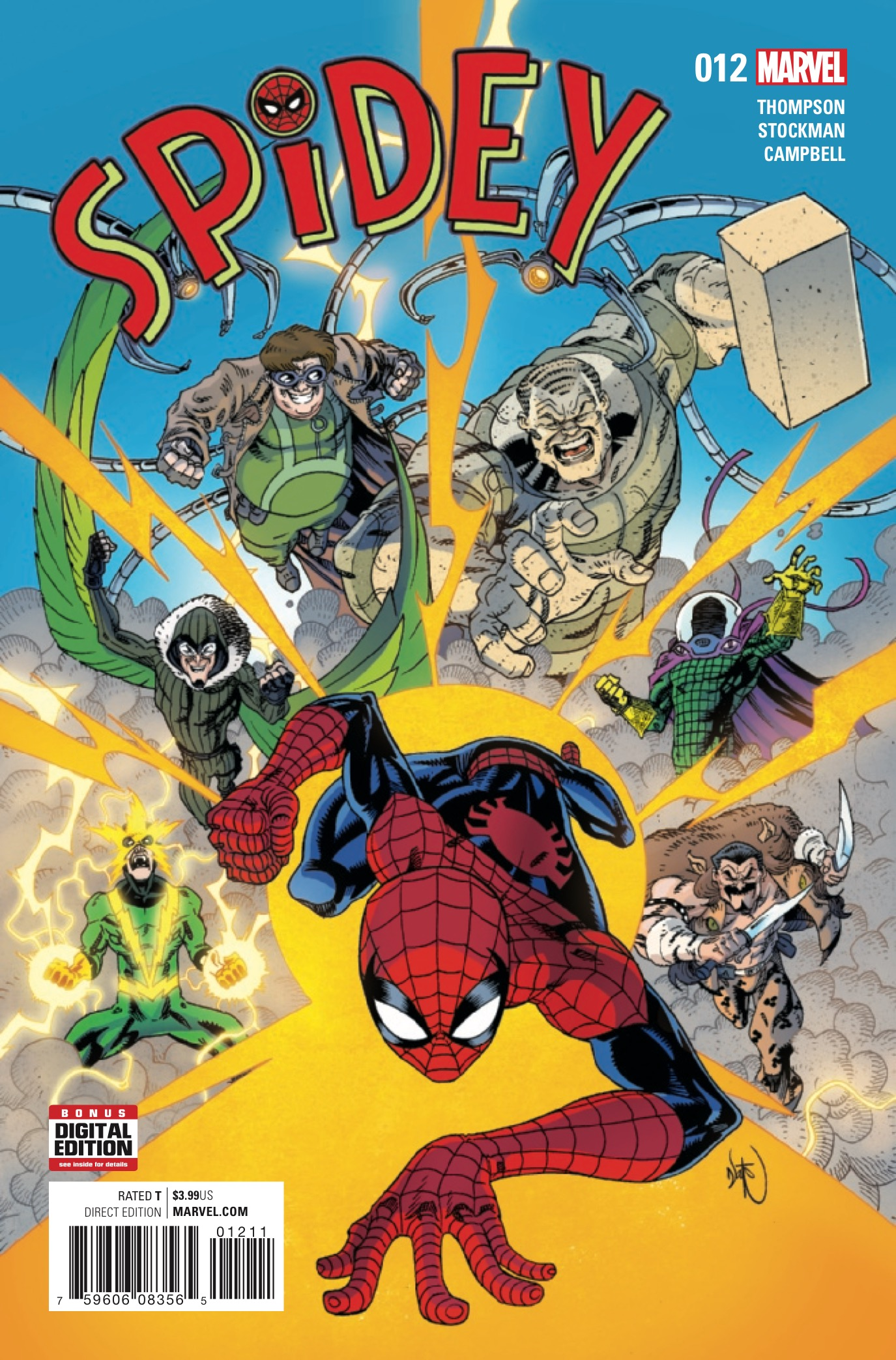 Marvel Preview: Spidey #12