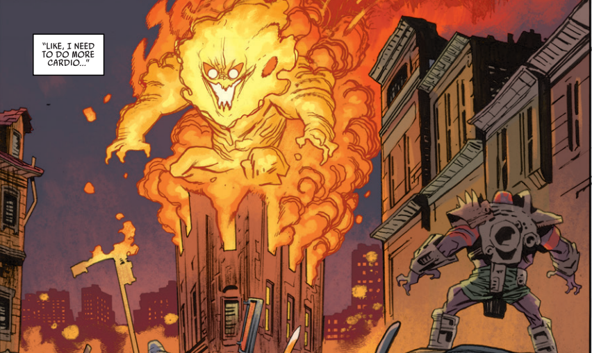 Rumble #15 Review