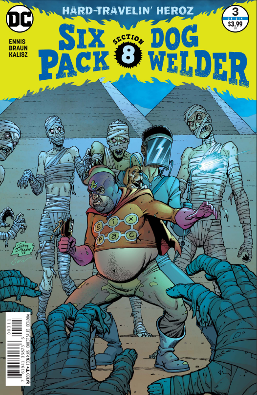 Sixpack and Dogwelder: Hard-Travelin' Heroz #3 Review