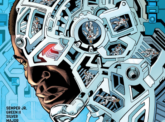 Cyborg #4 Review
