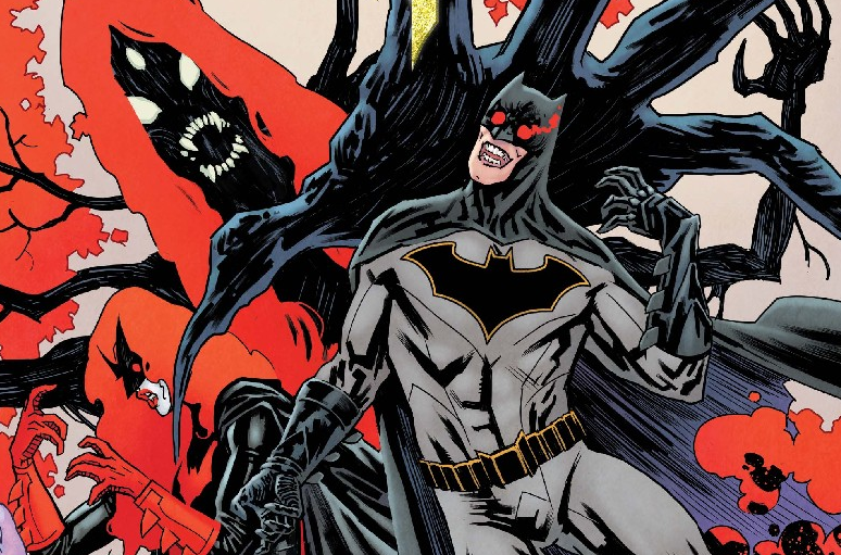 """It's part four of the Night of the Monster Men in Batman #8.  Batman is still reeling from Tim Drake's """"death,"""" and a whole bunch of monsters are destroying downtown Gotham. Also, it's raining and Hugo Strange is doing bicep curls. Is anything going the Bat-Family's way?"""