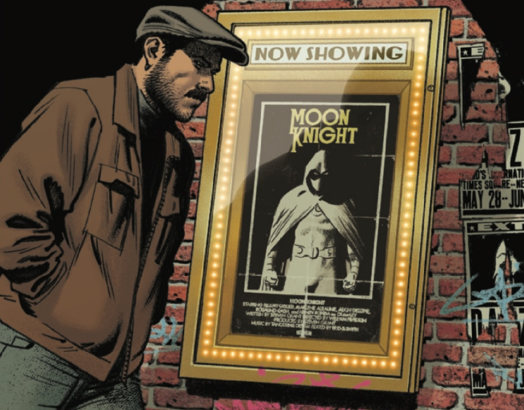 """NIGHT SHIFTS"" Jake Lockley is under arrest for MURDER?! Is it a false accusation, or has Marc Spector lost control of one aspect of MOON KNIGHT? His mind is reaching its limit!"