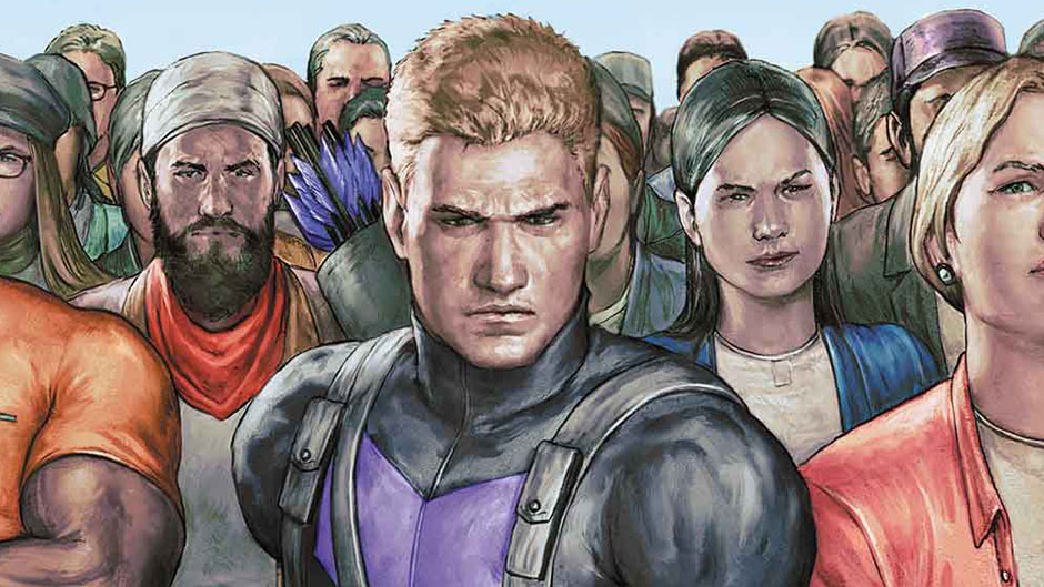 Marvel Preview: Occupy Avengers #1