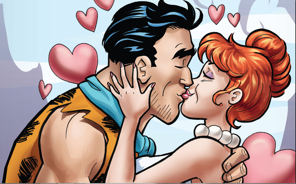 The Flintstones #4 sees Fred and Wilma go to a group marriage counseling session to reevaluate their relationship. Is it good?