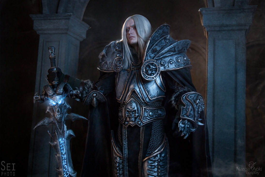 World of warcraft arthas and jaina cosplay by aoki and narga aipt