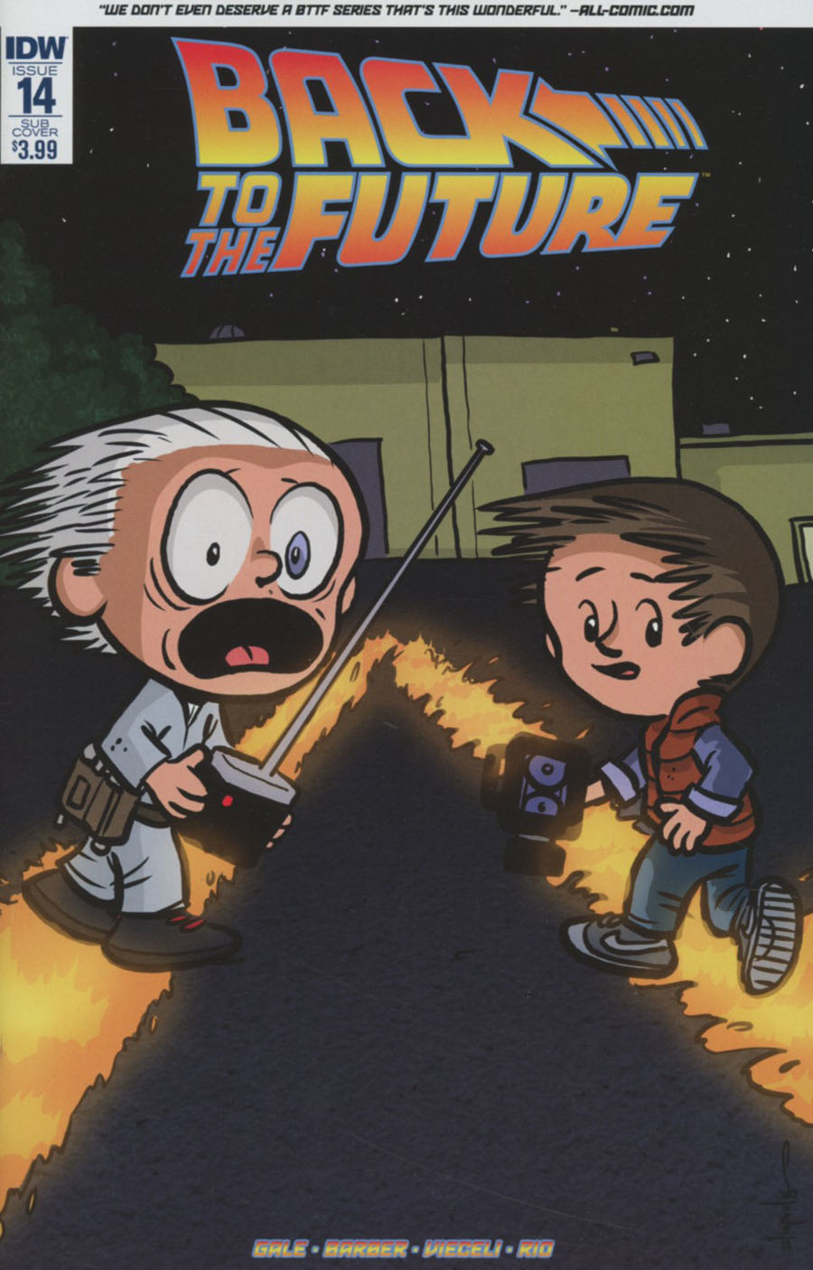 Back to the Future #14 Review