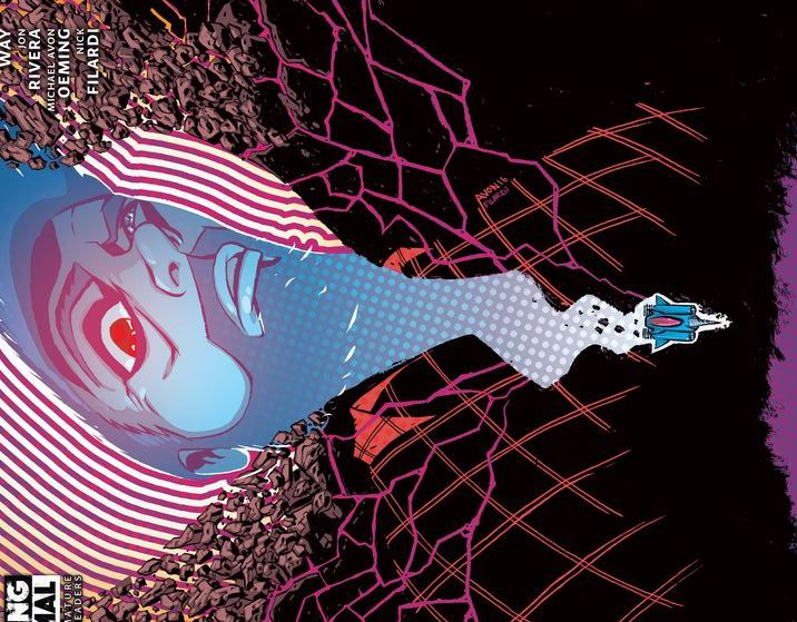 Cave Carson Has a Cybernetic Eye #2 Review