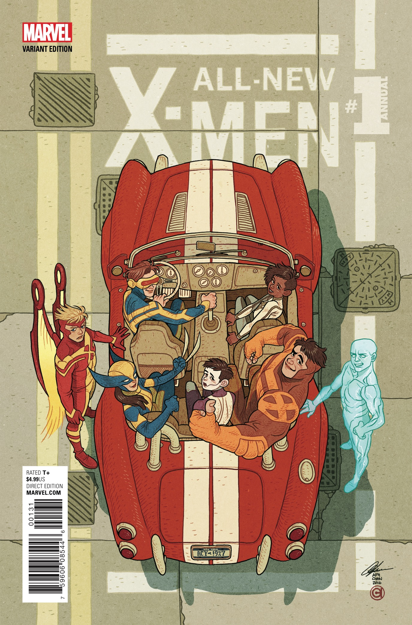 Marvel Preview: All-New X-Men Annual #1