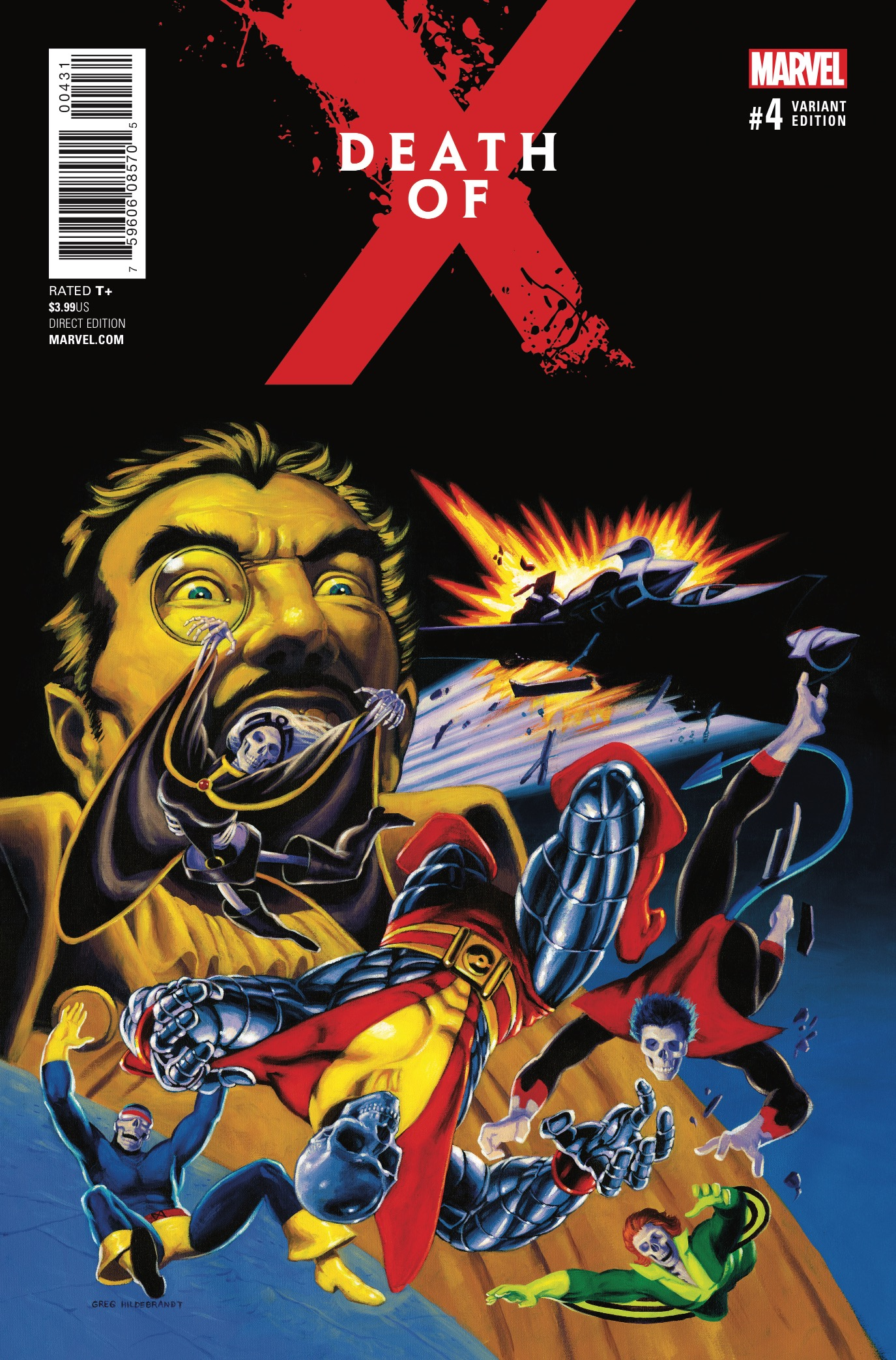 Marvel Preview: Death of X #4