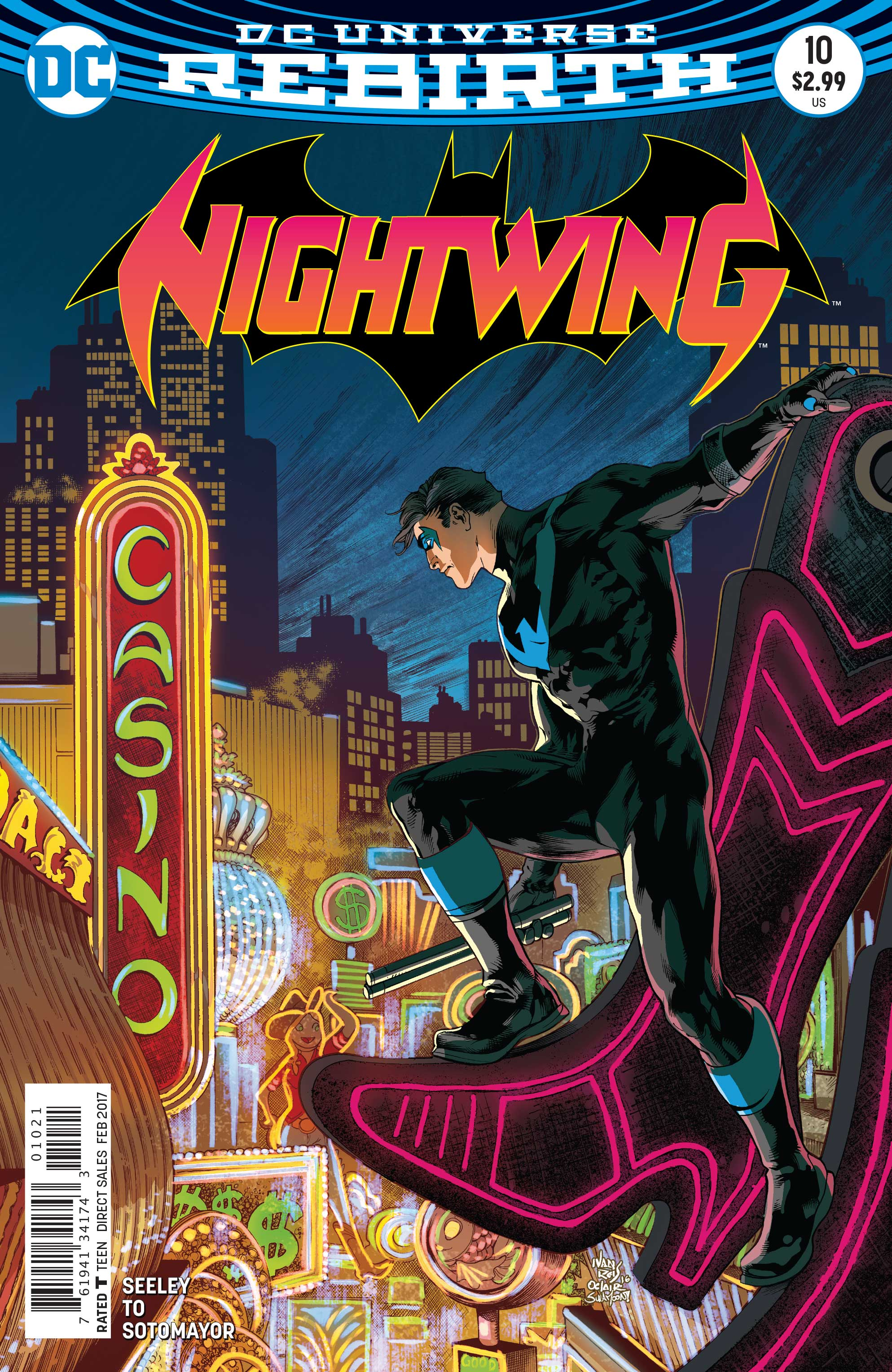 DC Preview: Nightwing #10
