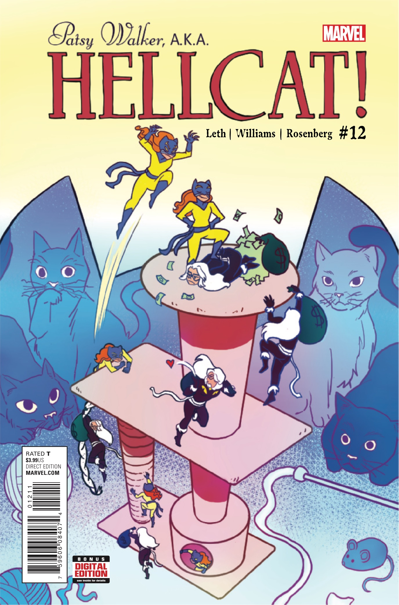 Marvel Preview: Patsy Walker, A.K.A Hellcat! #12