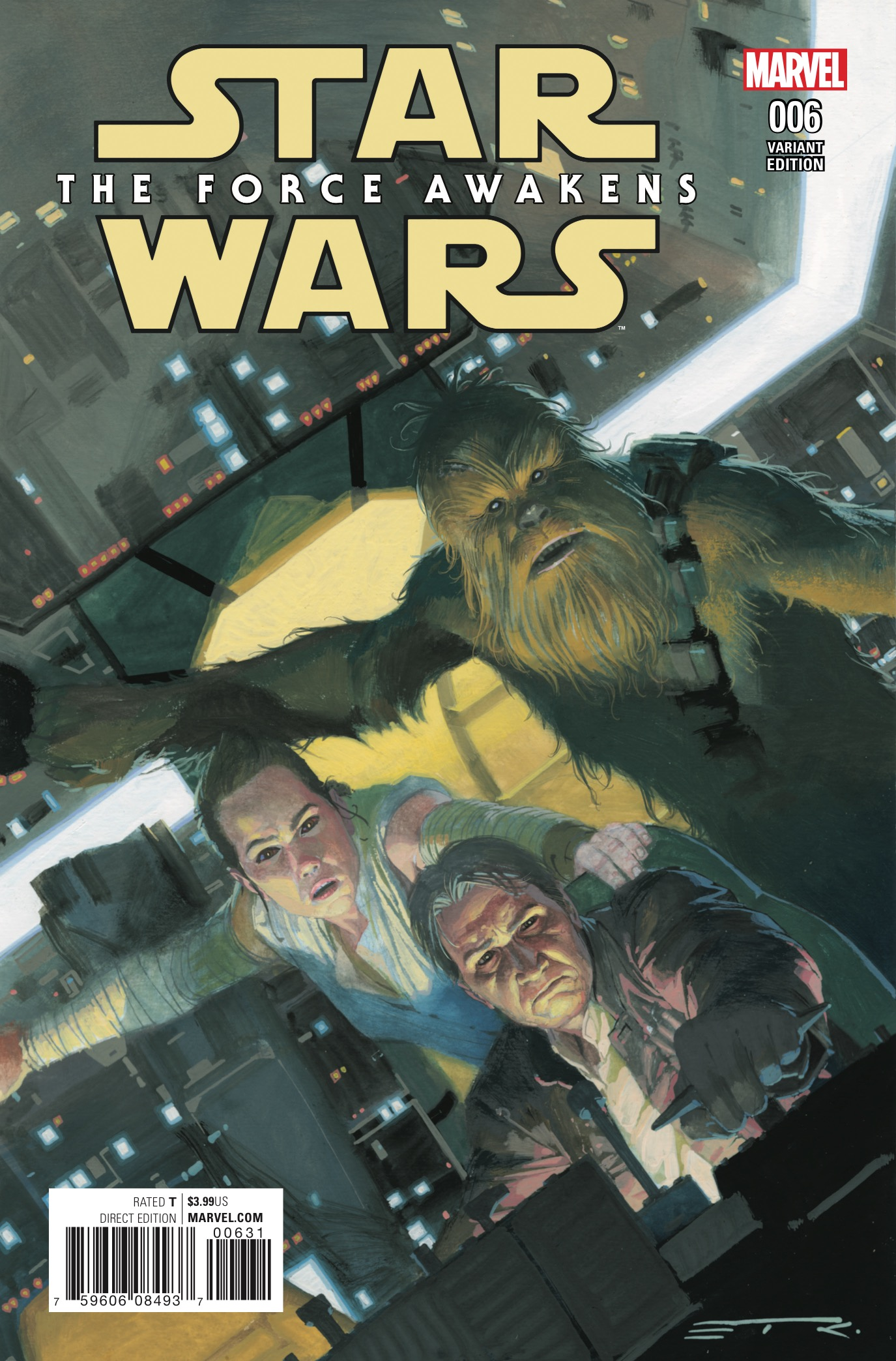 Marvel Preview: Star Wars: The Force Awakens Adaptation #6