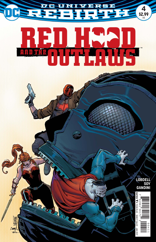 Red Hood and the Outlaws #4 Review