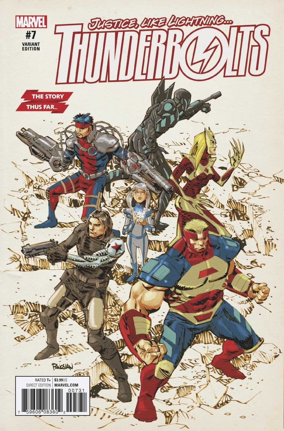 Marvel Preview: Thunderbolts #7