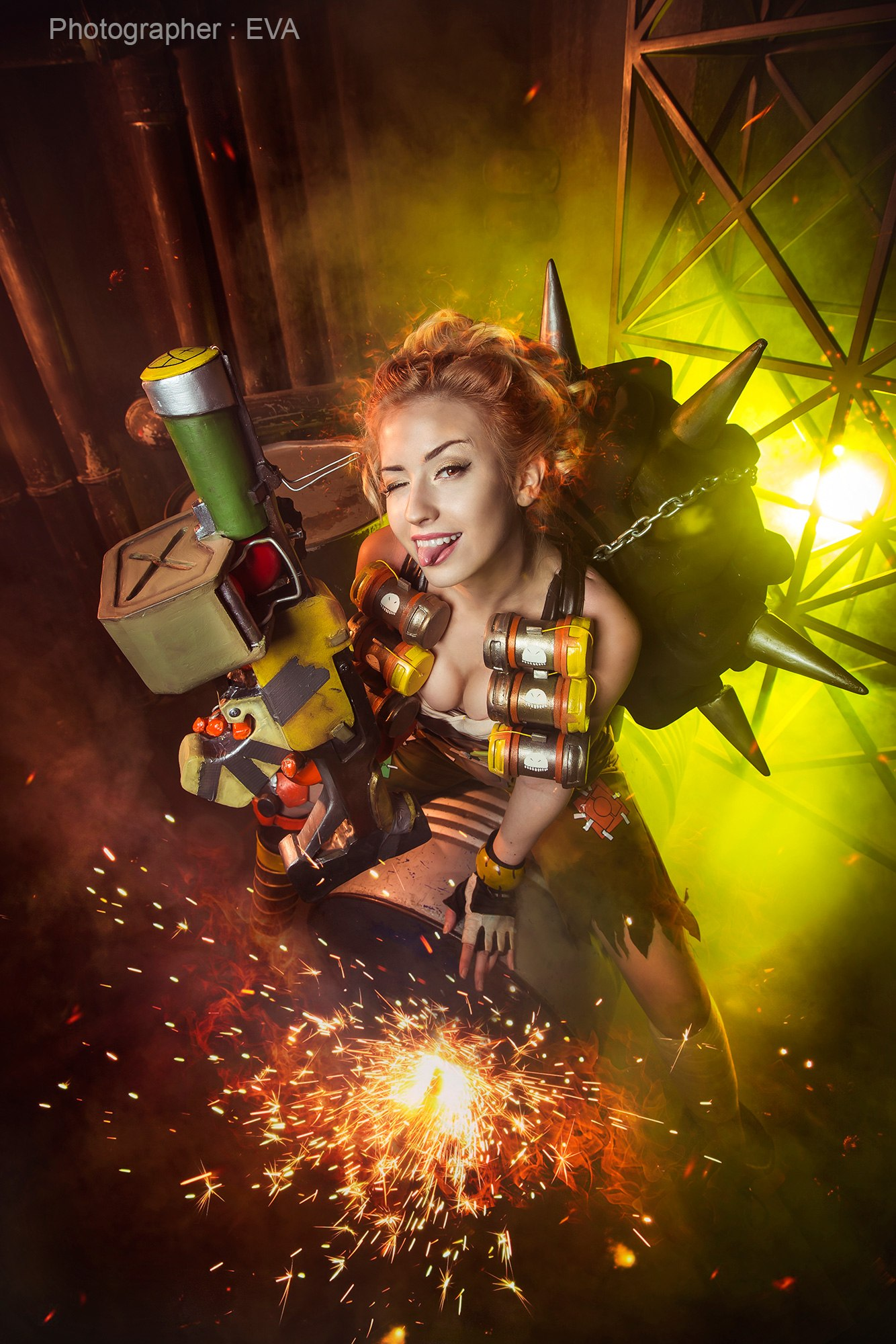 Overwatch: Junkrat Cosplay by Angelica