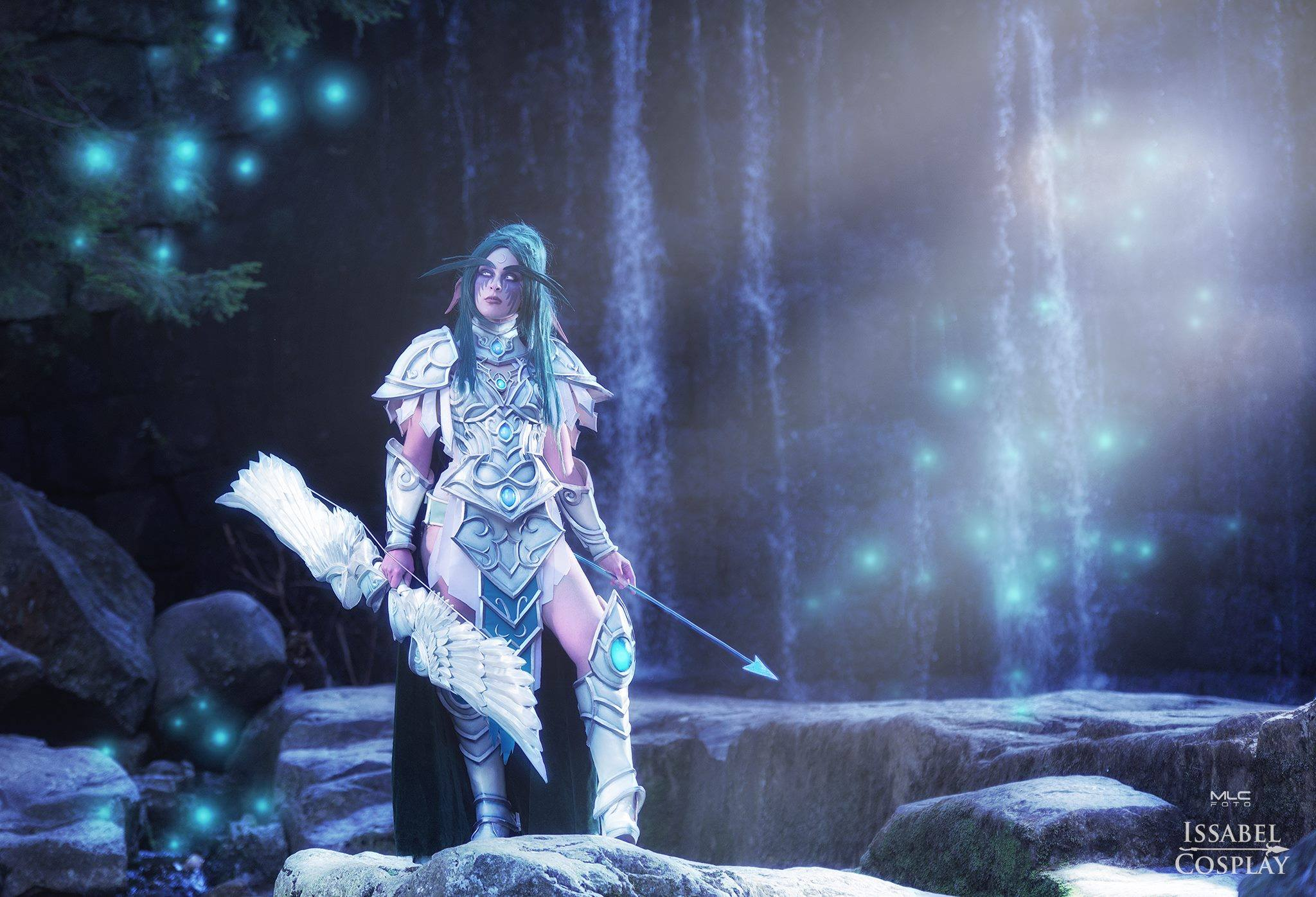 Heroes of the Storm: Tyrande Whisperwind Cosplay by Issabel
