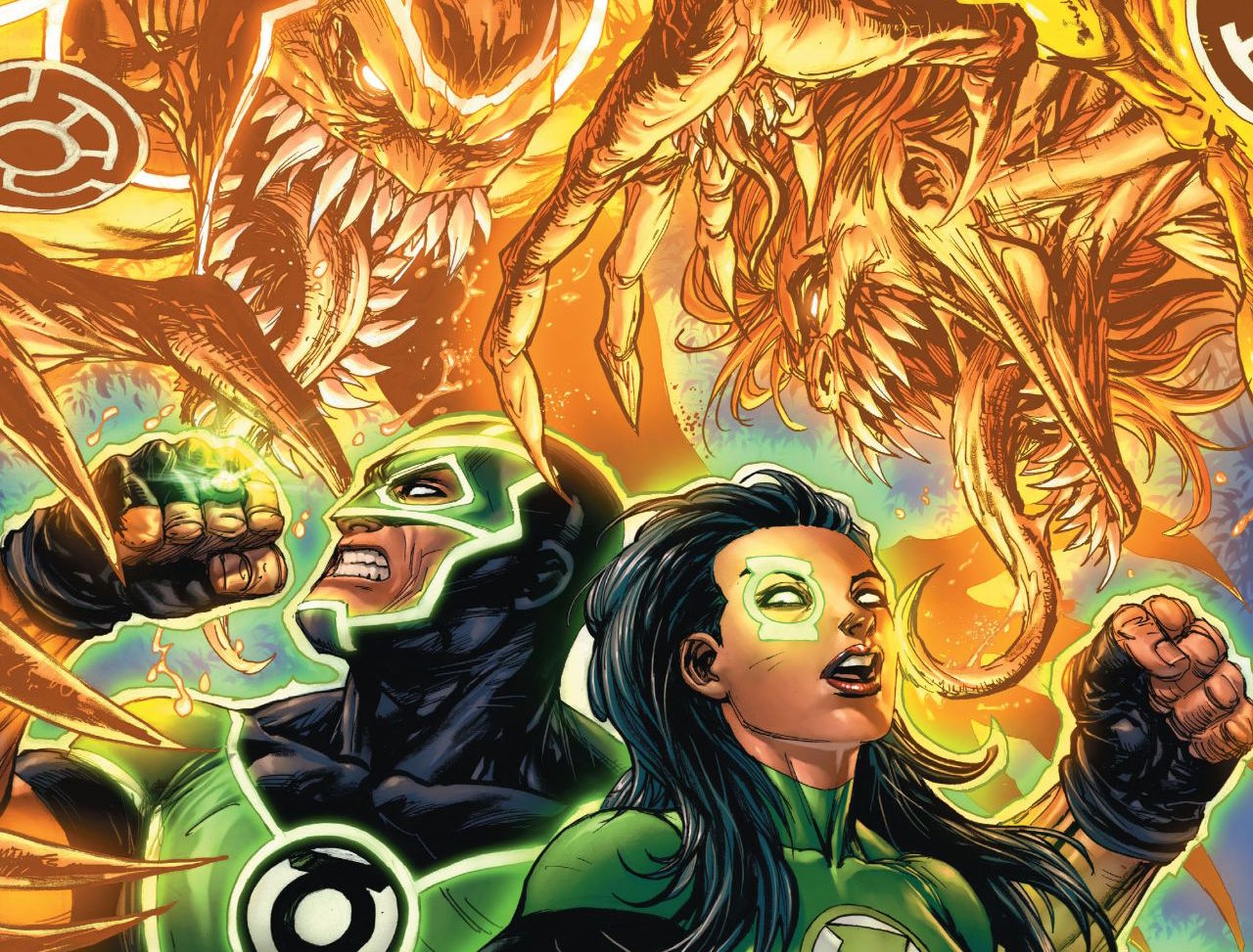 The Phantom Ring has, of course, fallen into the wrong hands and may destroy Earth as we know it! Where is Hal Jordan again? Sheesh.