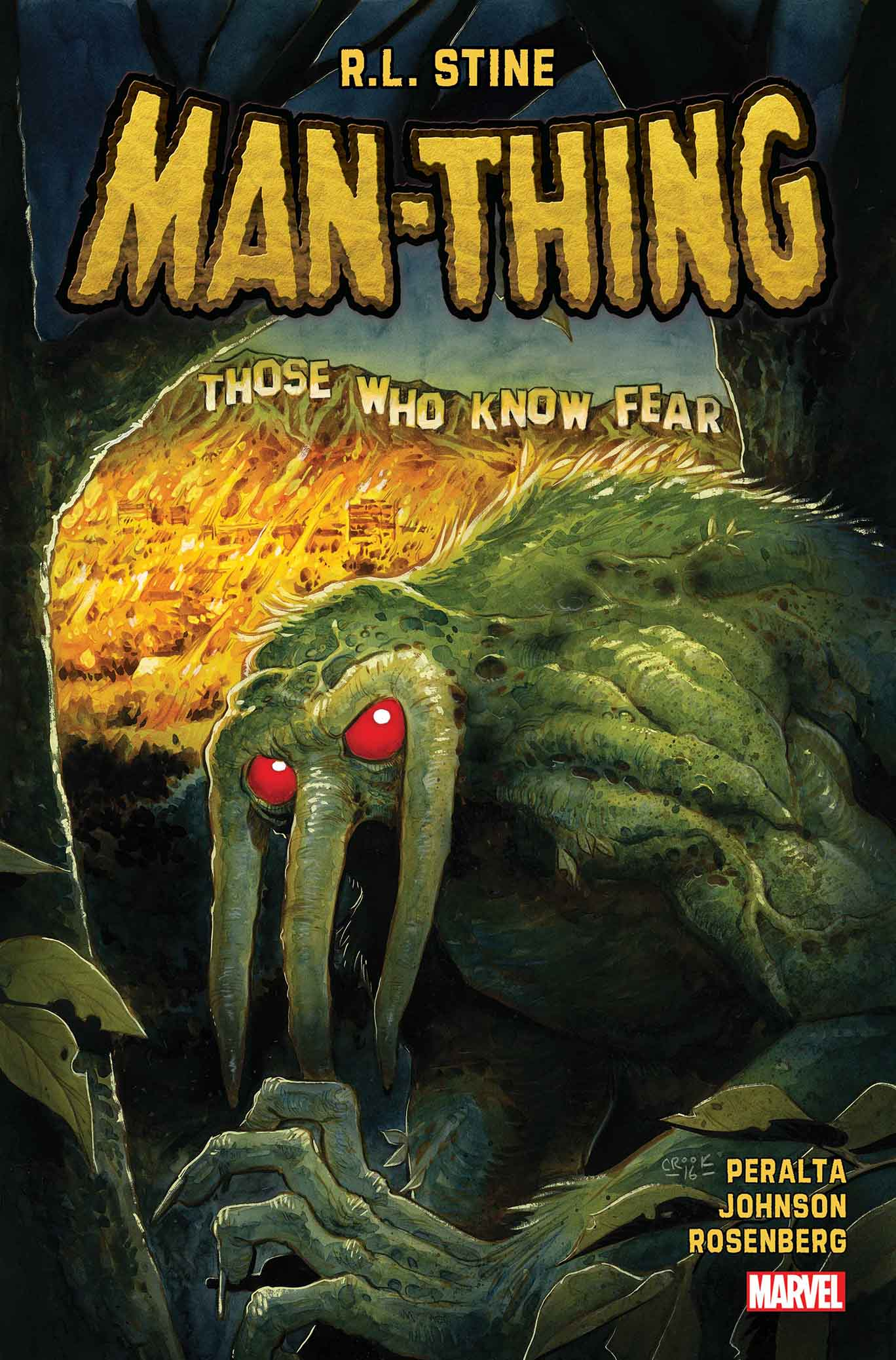 Marvel Preview: R.L. Stine's Man-Thing #1