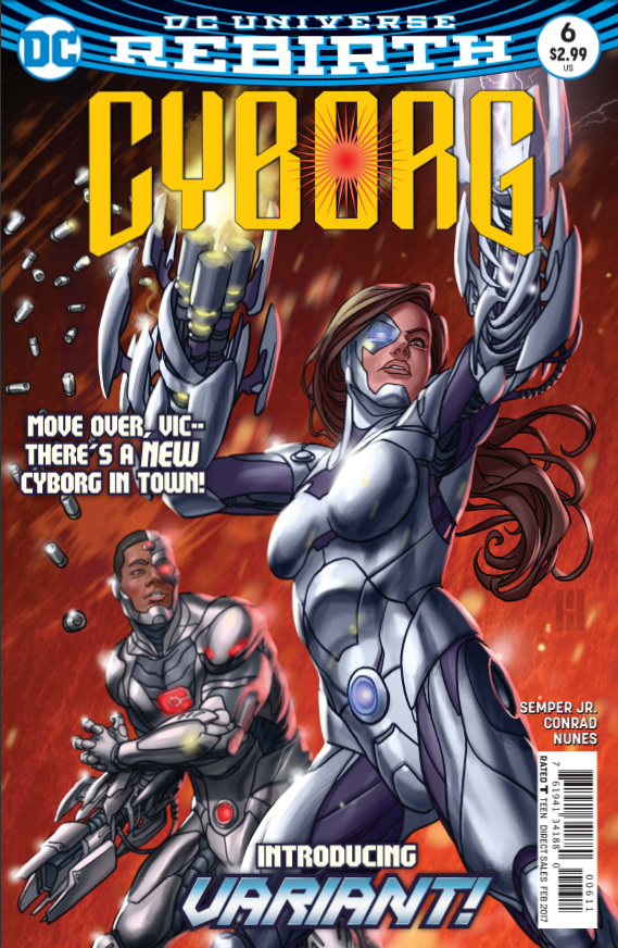 Cyborg #6 Review