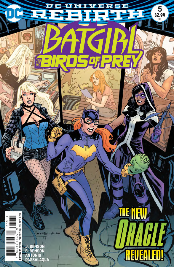 Batgirl and the Birds of Prey #5 Review
