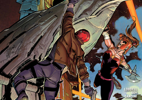 Red Hood and the Outlaws #5 Review