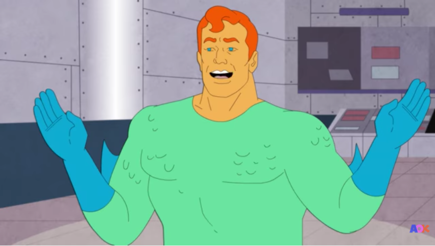 Aquaman is a gag character in this new short from AOK