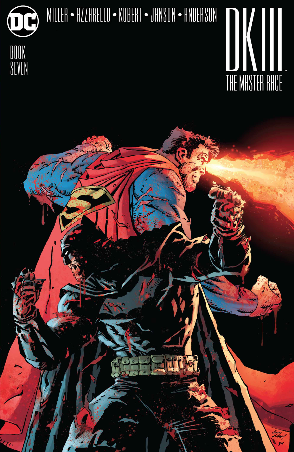 Dark Knight III: The Master Race #7 Review