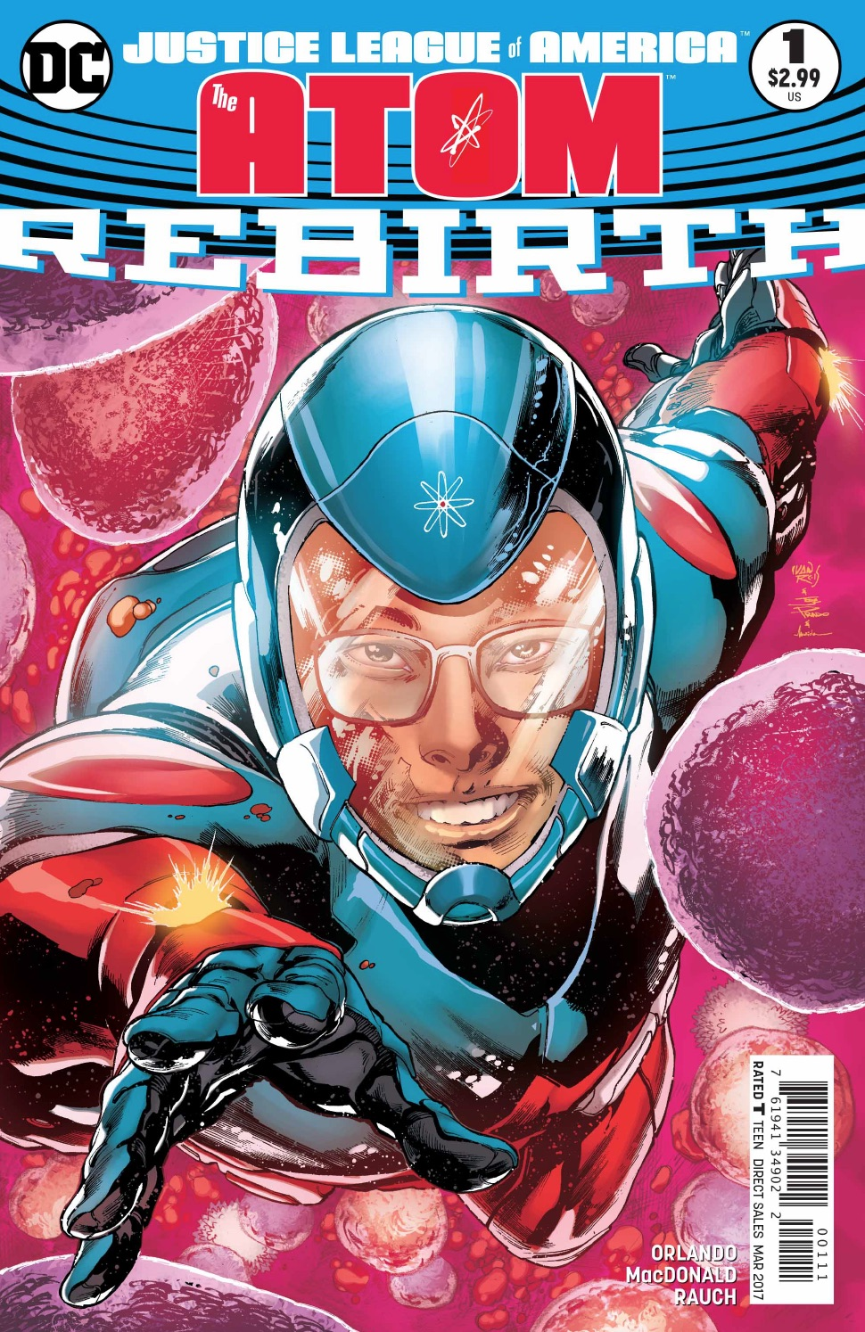Justice League of America: The Atom Rebirth #1 Review