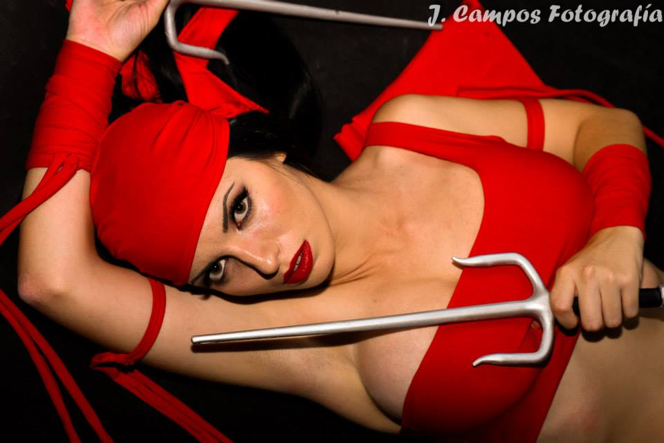 Elektra Cosplay by Larita Geek