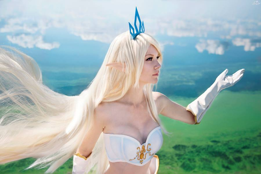 League of Legends: Janna Cosplay by Akina Gasai
