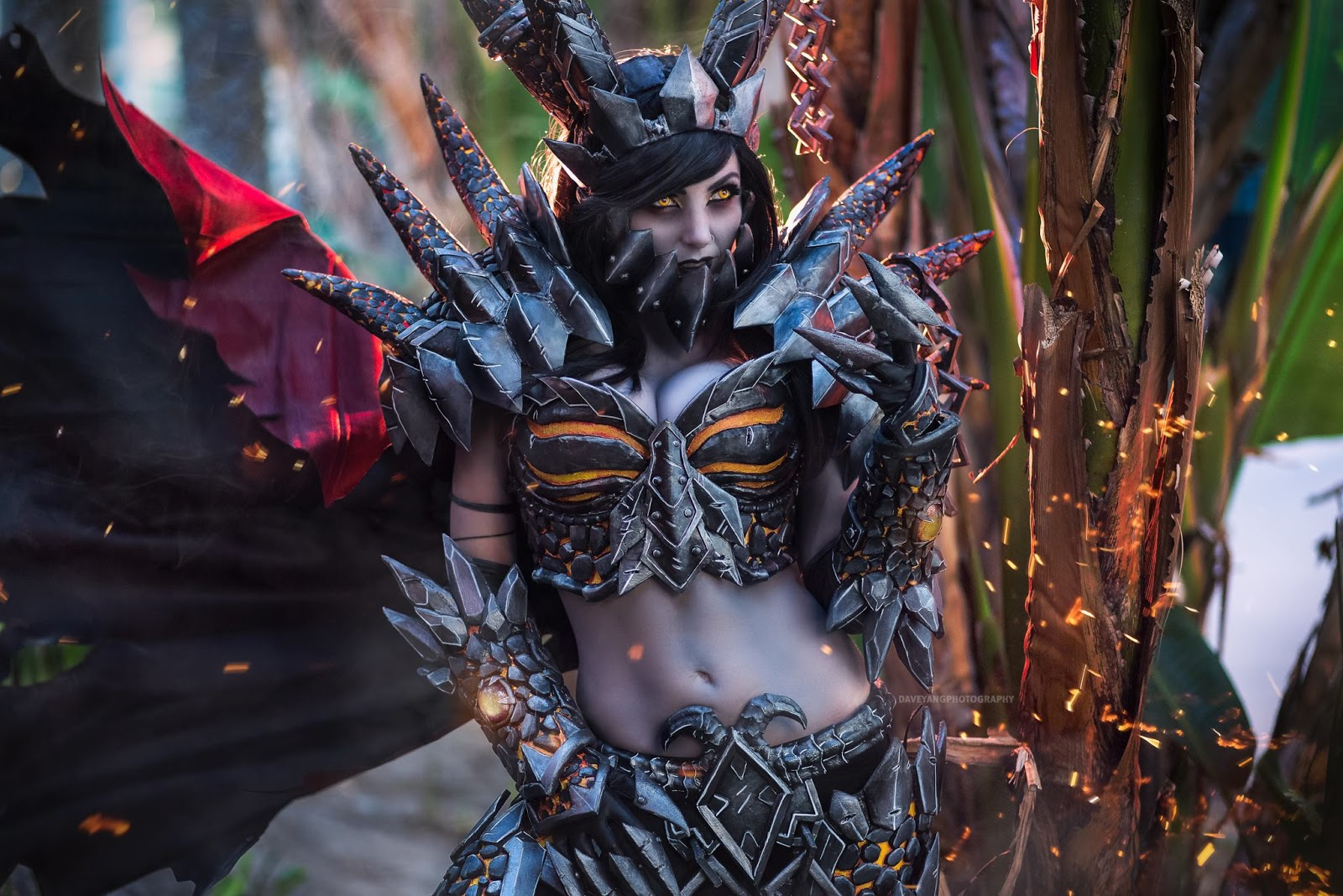World of Warcraft: Deathwing Cosplay by Jessica Nigri