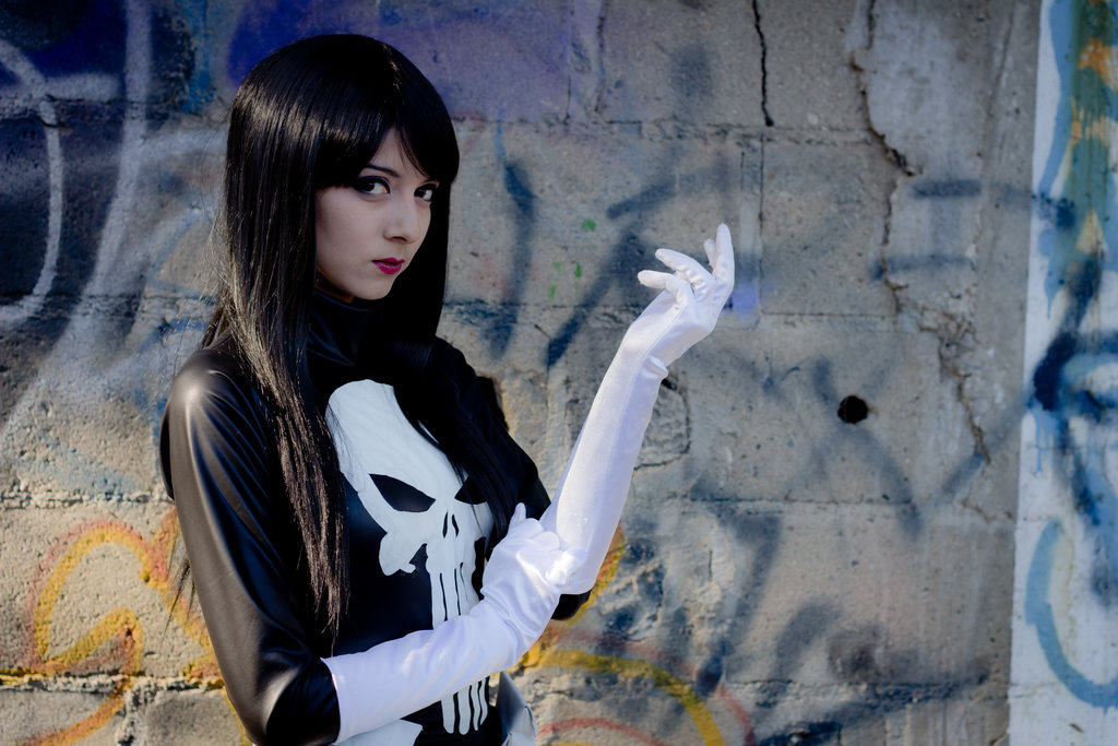 Frank Castle: Anti-hero. Vigilante. Sociopath. The Punisher. Call him whatever you want, but one thing's for sure, he's never looked as good as Karen Kasumi's cosplay rendition here: