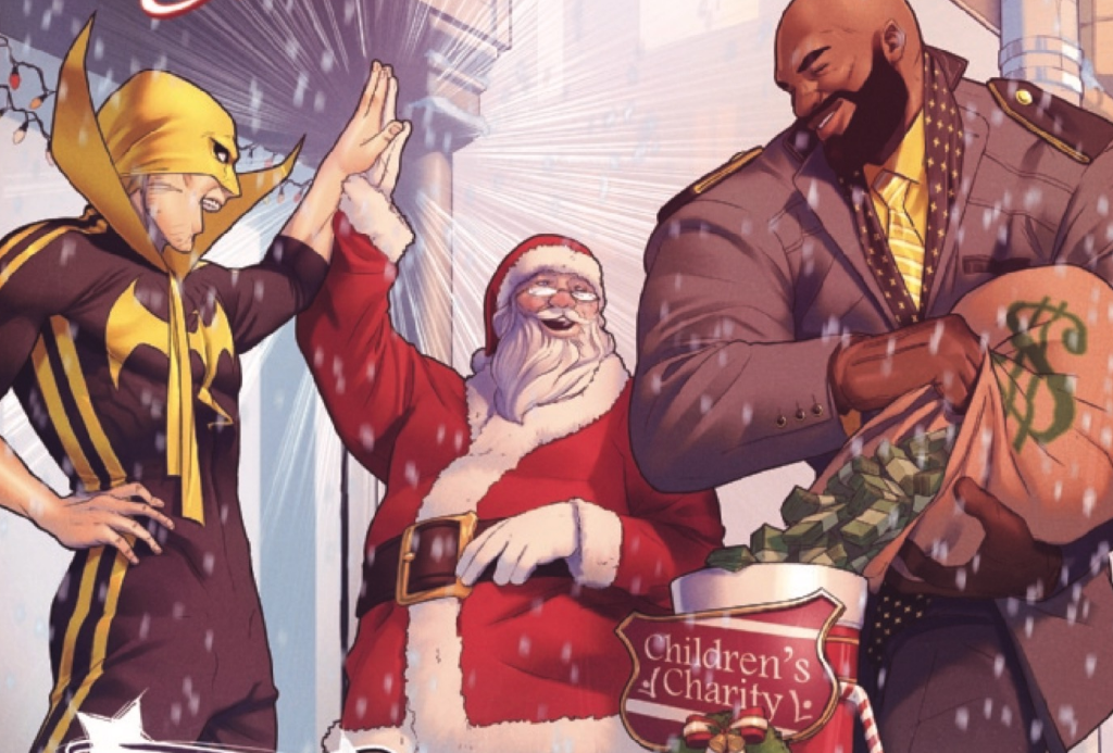 Marvel Preview: Power Man and Iron Fist: Sweet Christmas Annual #1
