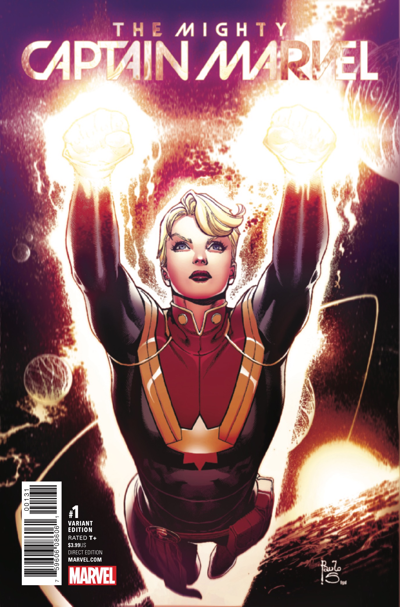 Carol's life is complicated: there's an alien refugee crisis on Earth, Alpha Flight has budget problems, and her life is now a TV show. Welcome to The Mighty Captain Marvel. Is it good?