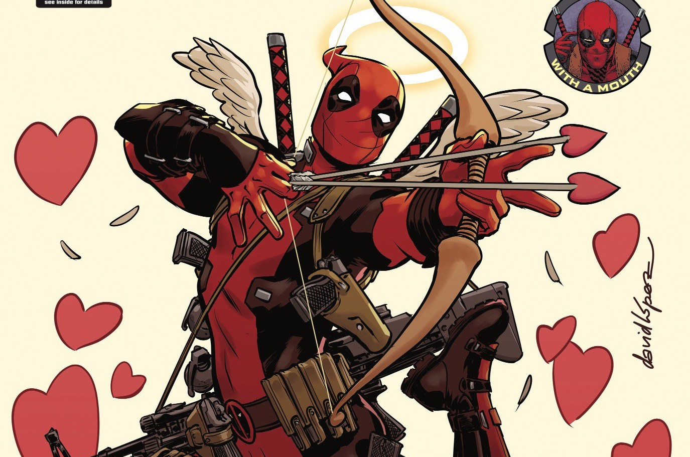The premise behind this issue is divine. Deadpool + Valentine's Day = comic hilarity. Or at least, writer Gerry Duggan has the ability to do something a little bit different! We explore, review, and attempt to understand the insanity of Deadpool and romance, but is it good?