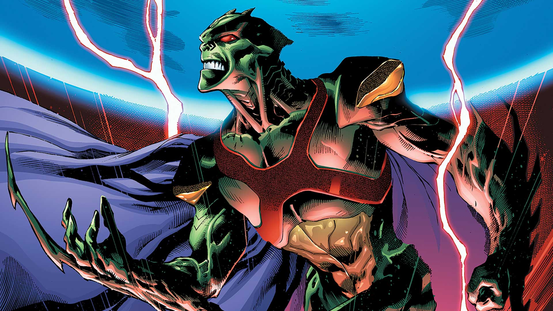 """Martian Manhunter finally got the solo series he deserved towards the end of New 52. """"The Red Rising"""" is the second and last volume of the series before DC launched Rebirth. So is it good?"""