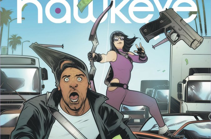 Armed with a bow and her wits, Kate Bishop must solve a villainous  mind control plot whilst keeping her chipper attitude. We take a look at this so far excellent series' third issue. Is it good?