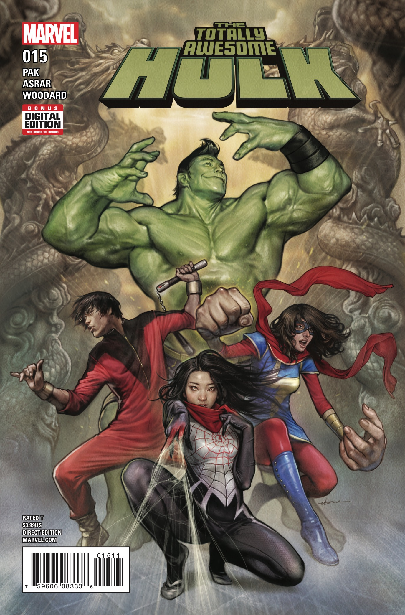 Marvel Preview: Totally Awesome Hulk #15
