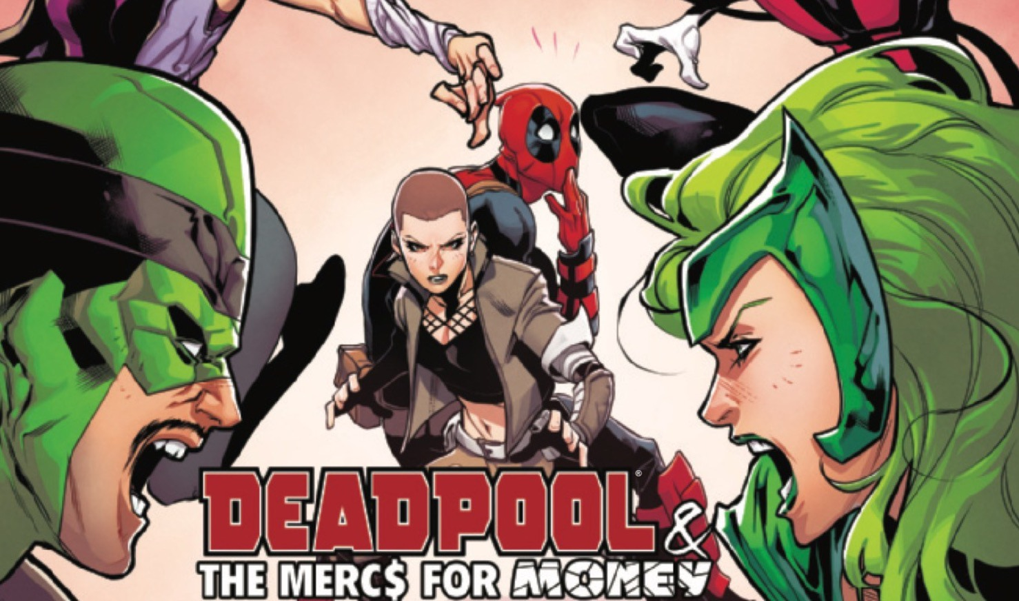 Marvel Preview: Deadpool and the Mercs for Money #7